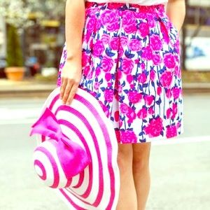 Vineyard Vines 2014 Kentucky Derby Print Skirt